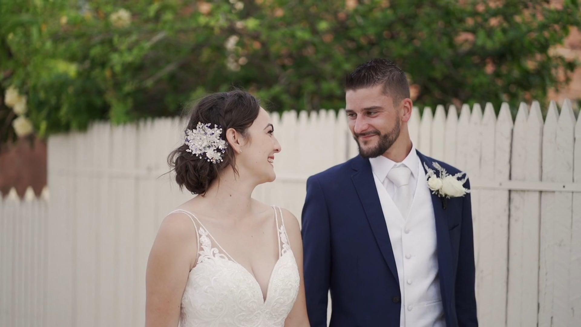 Ashleigh + Francois Wedding Trailer