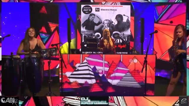 DJ Kristaval feat. Crystal Vargas & Gabi Rose LIVE