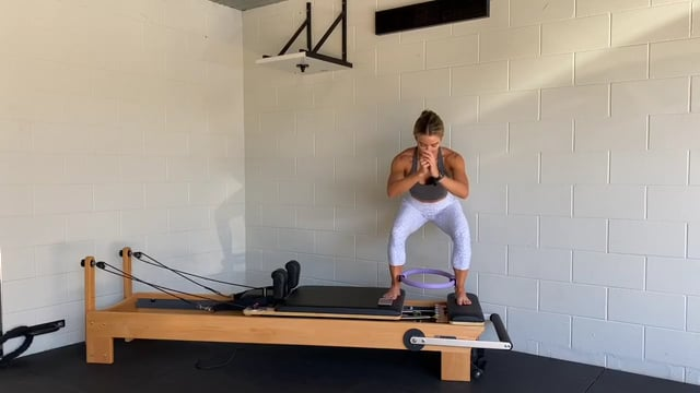 30min reformer workout with the pilates circle