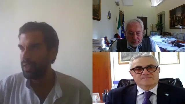Intervista a Marco Cuchel e all'onorevole Pierpaolo Baretta, sottosegretario al Ministero dell'Economia e delle Finanze