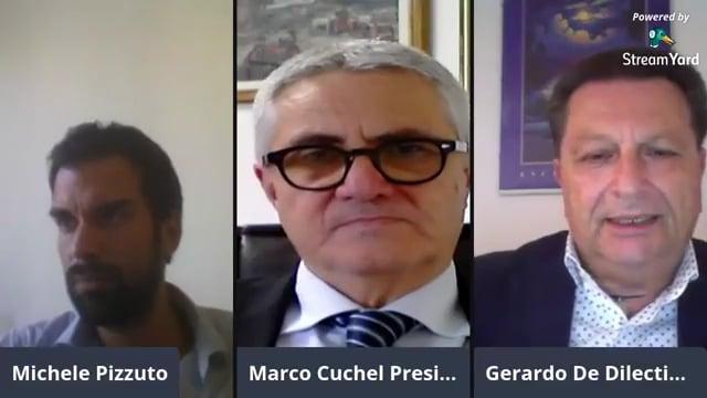 Marco Cuchel e Gerardo De Dilectis, Presidente Associazione Nazionale Commercialisti Napoli, sui problemi della categoria