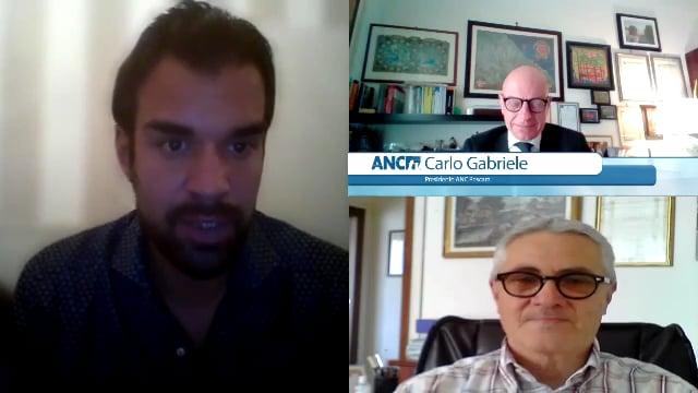 Conversazione con Marco Cuchel e Carlo Gabriele, Presidente dell'Associazione nazionale Commercialisti di Pescara