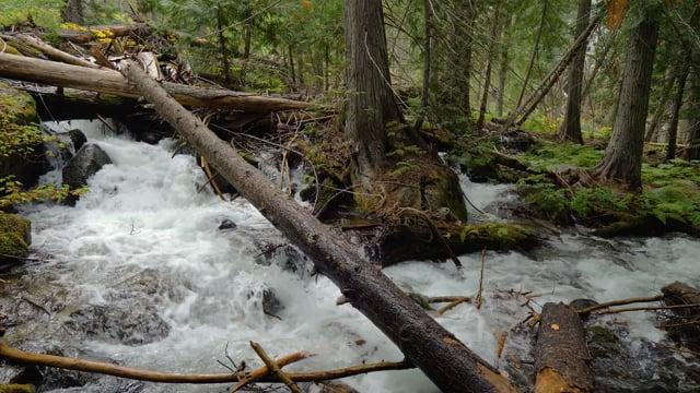 Enchantment Lakes Trail, Waterfalls-2