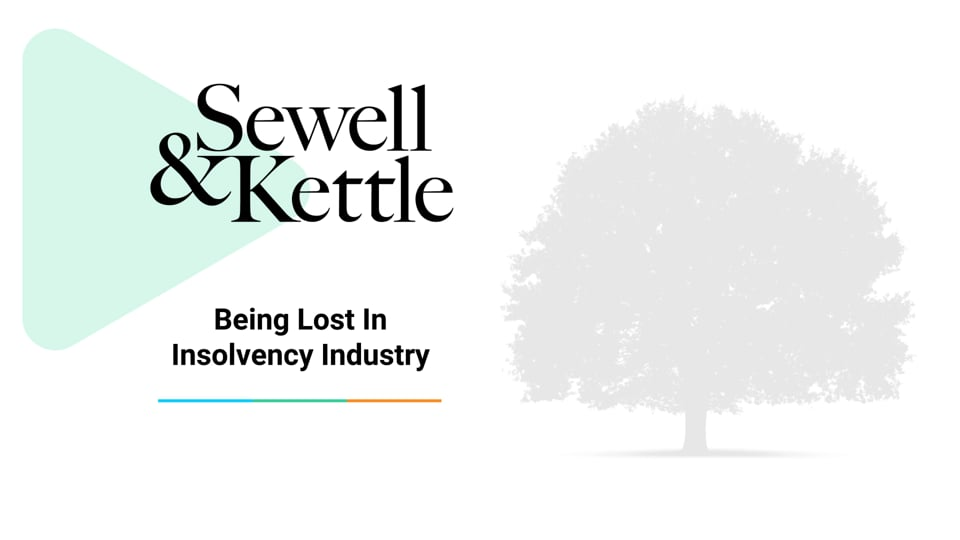 Being Lost in Insolvency Industry