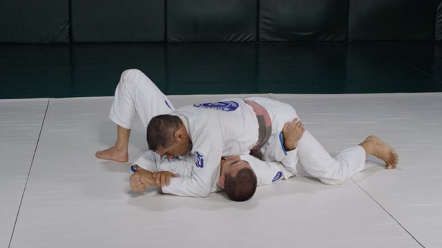 Straight armlock and elbow lock from side mount