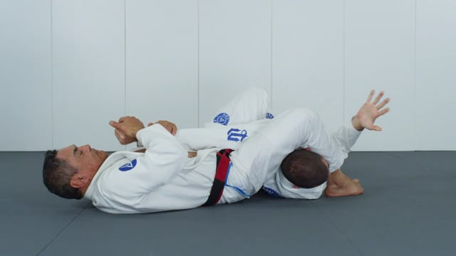 Spin armbar from side control