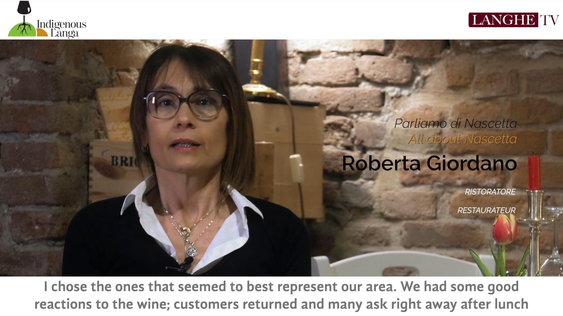 Parliamo di Nascetta con Roberta Giordano | Let's Talk About Nascetta with Roberta Giordano