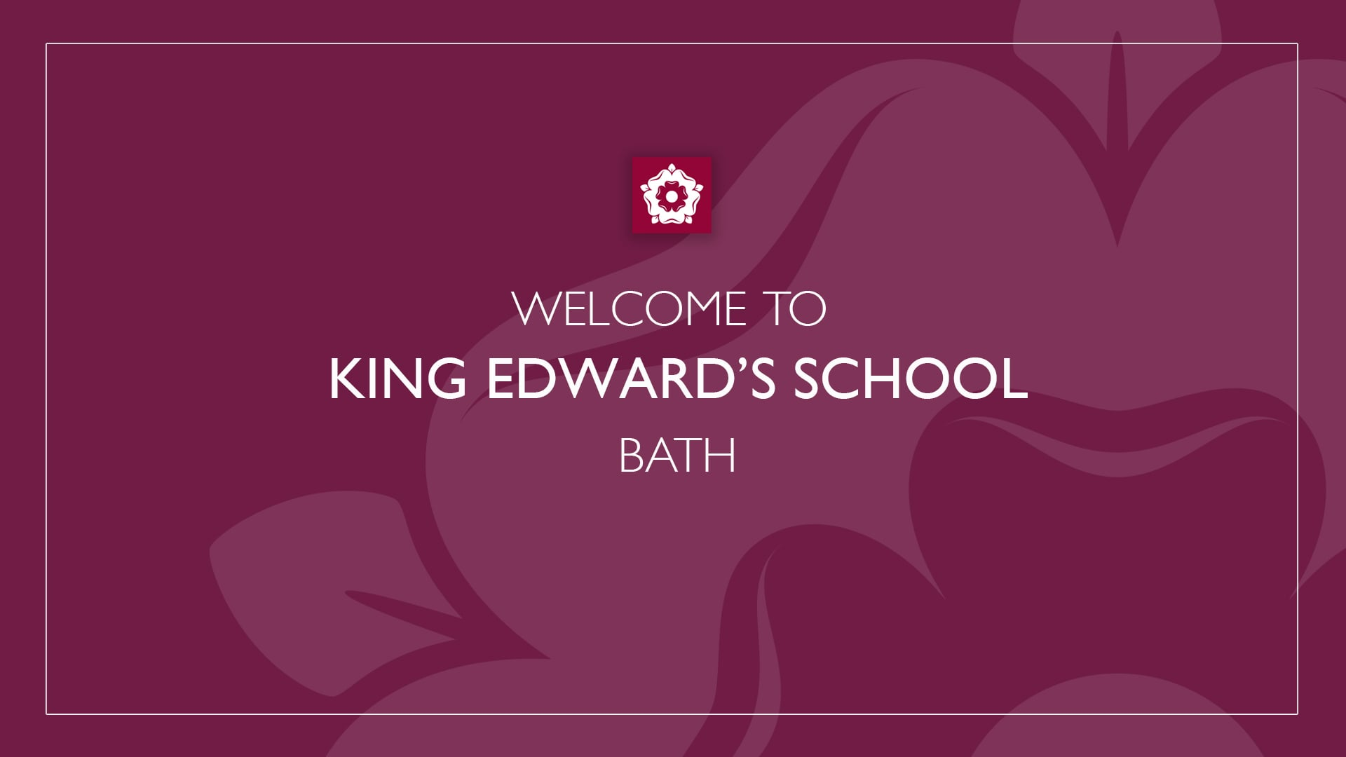 King Edward's School Virtual Welcome