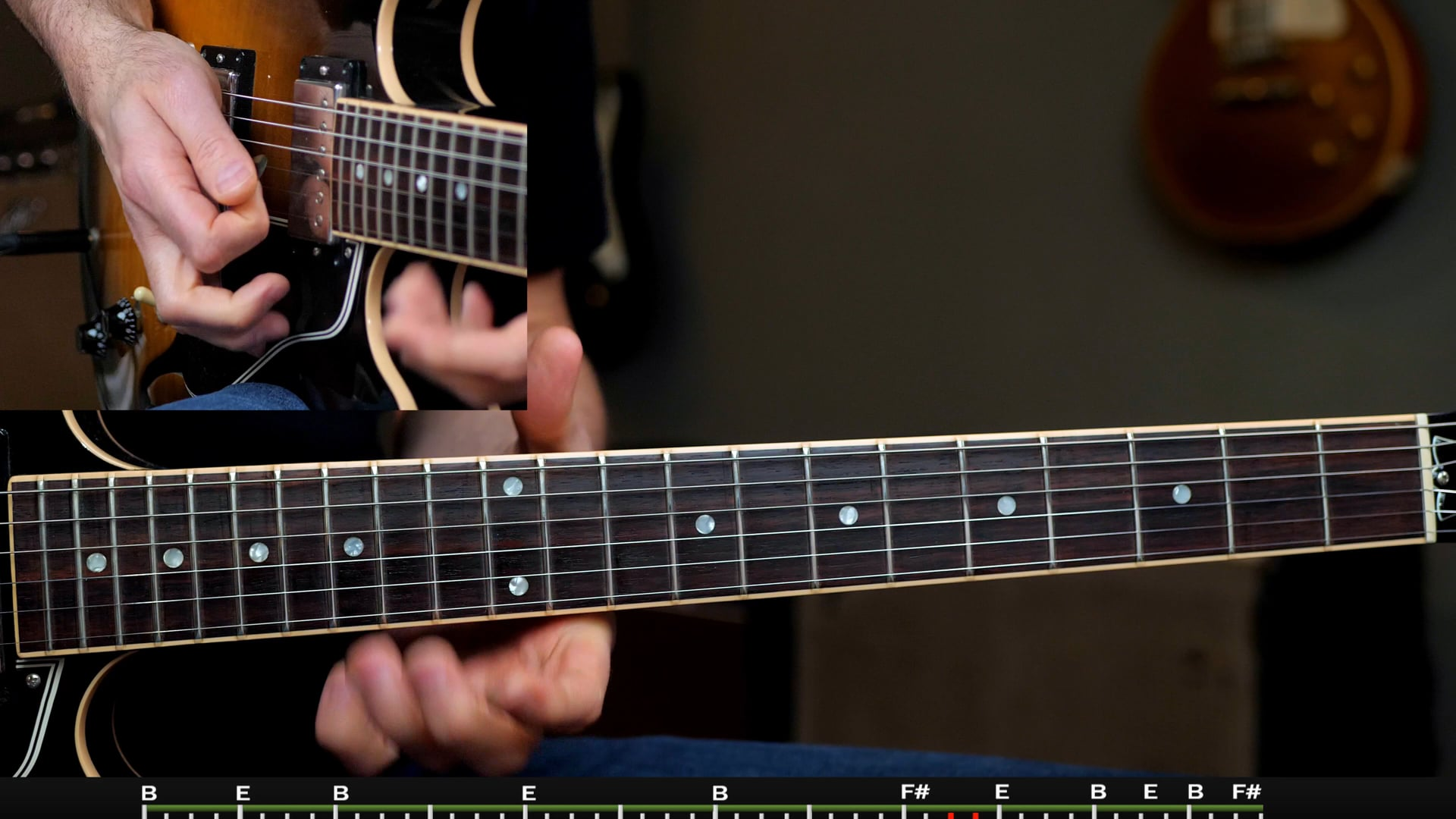 Slow Blues Supplement in B Solo