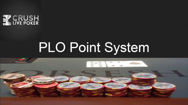 #20: PLO Point System and adjustments for PLO5