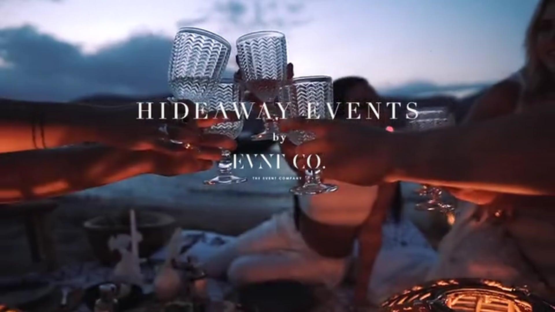 Hideaway events