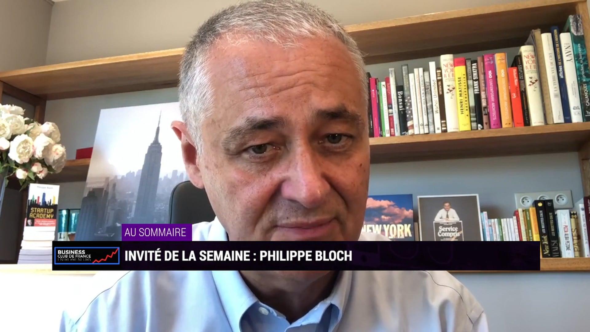 """Dossier été n°1 : ¨Philippe Bloch"""""""