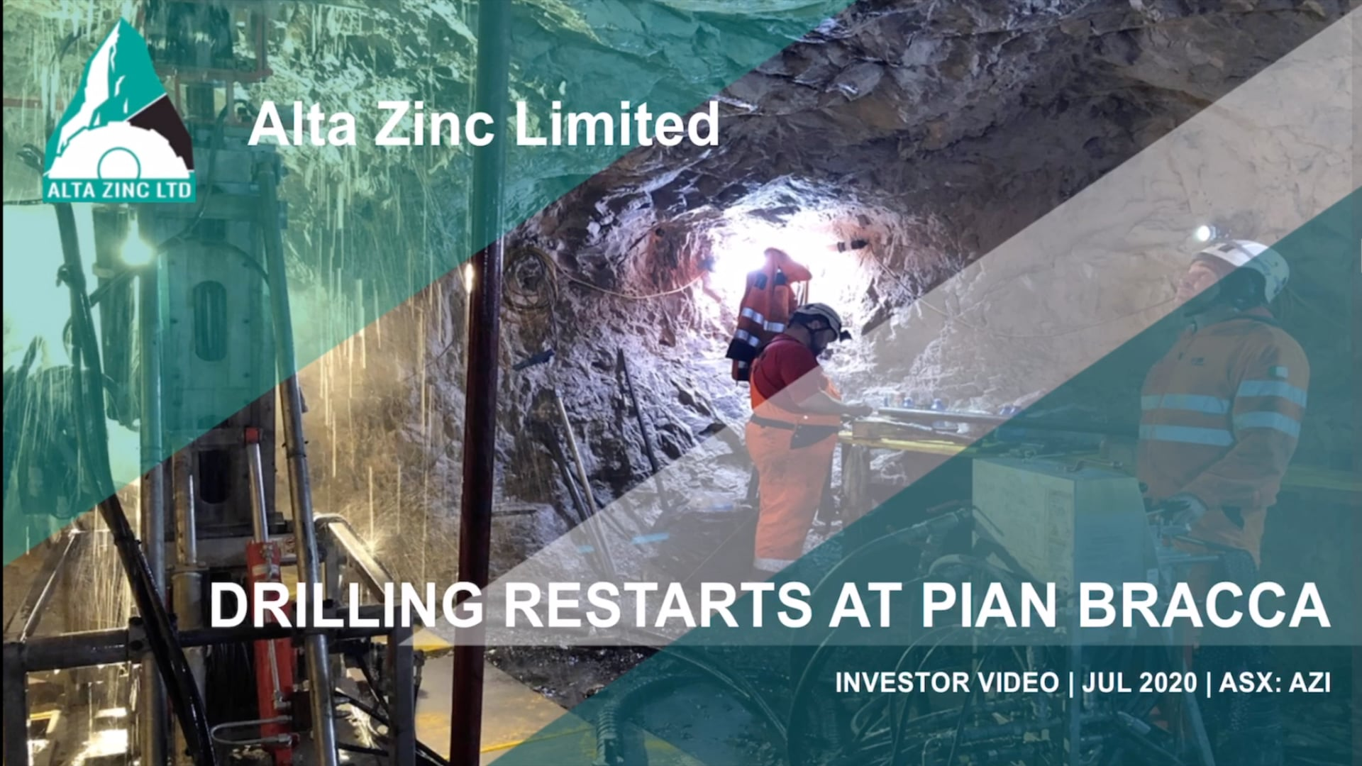 Alta Zinc: Drilling Restarts at Pian Bracca