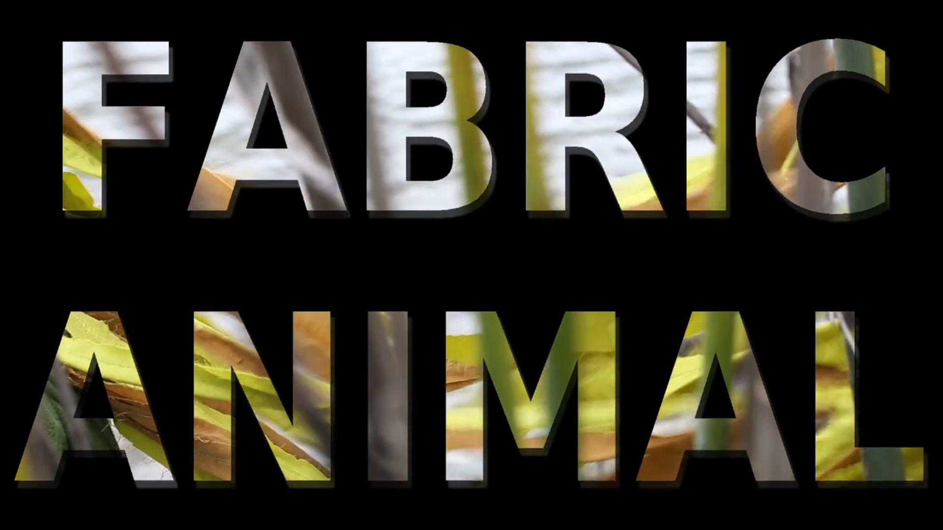 Fabric Animal (trailer)