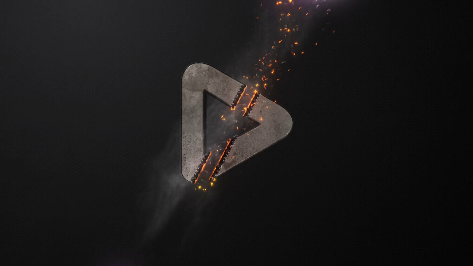 logo animation for Youtube channel
