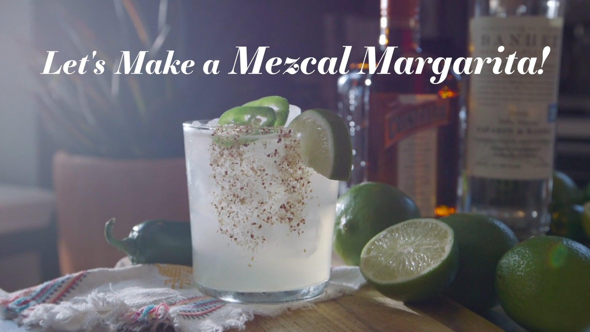 HOMESY X HILTON CARTER: Let's Make a Mezcal Margarita