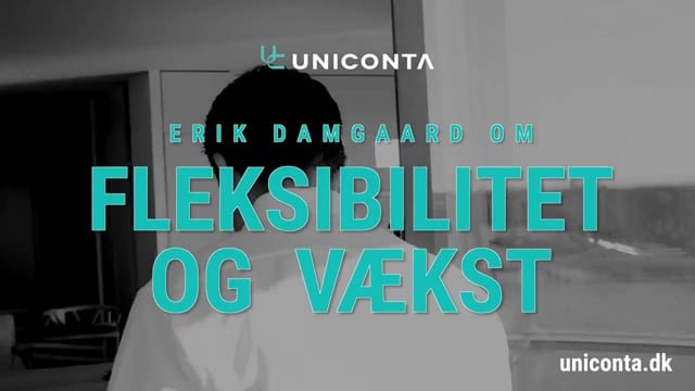Erik Damgaard om fleksibilitet og vækst