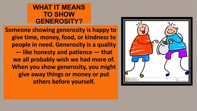 PB- Generous