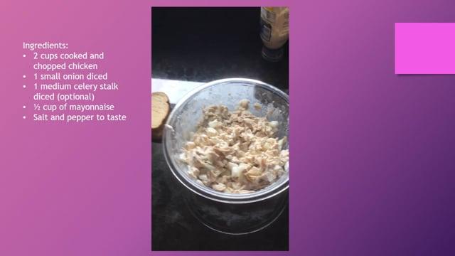 How to - Make Chicken Salad