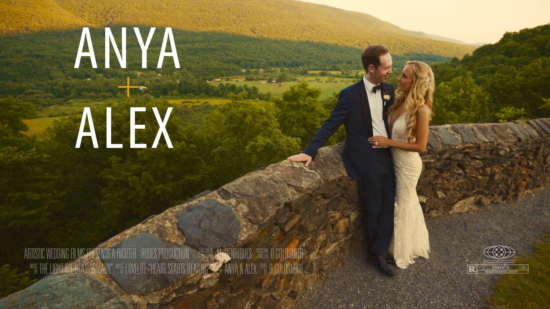Hildene, The Lincoln Family Home Wedding // Anya & Alex's Wedding Film Short // Vermont Destination Wedding