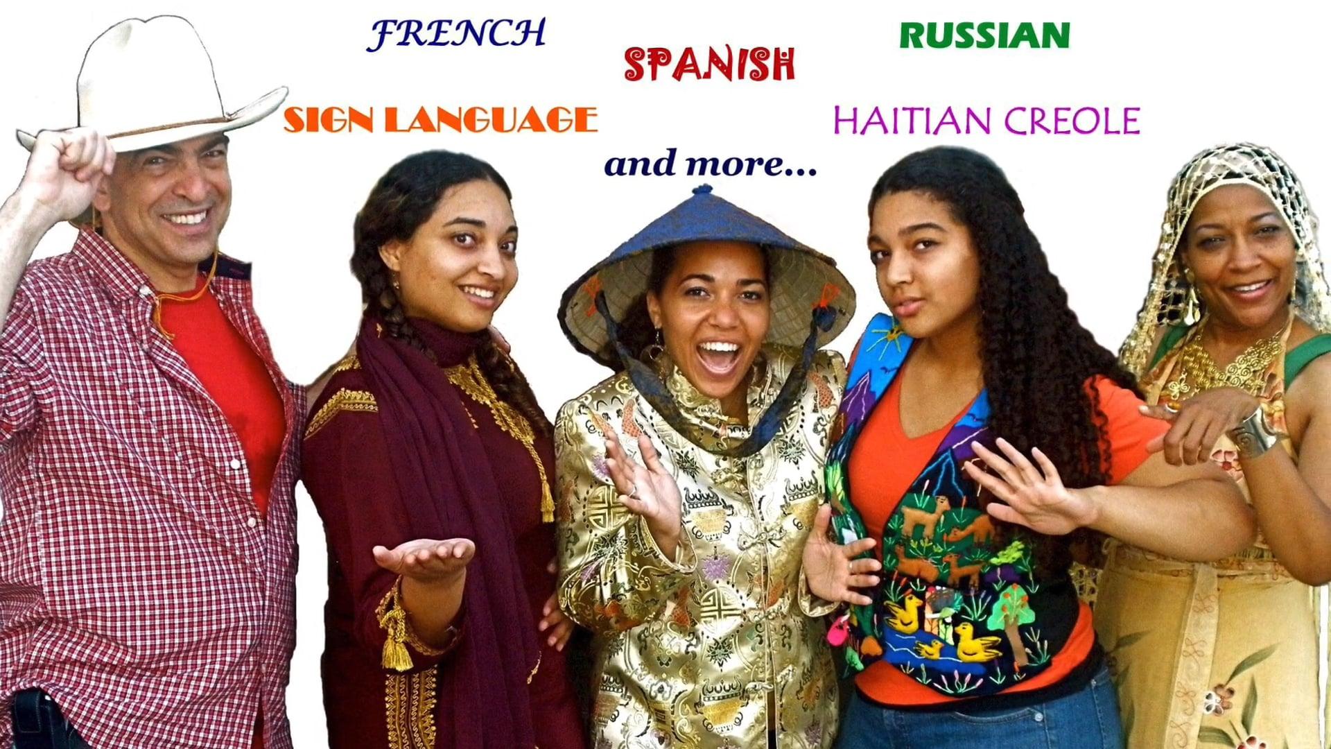 SADARRI & COMPANY ~ Multilingual Storytelling Goes Virtual! (Trailer) VIRTUAL TRAILER