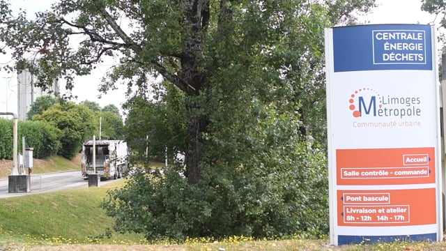 Visites guidées à la centrale énergie déchets de Limoges Métropole