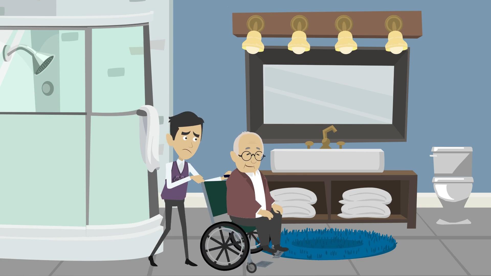 Elder Care Video in the UK