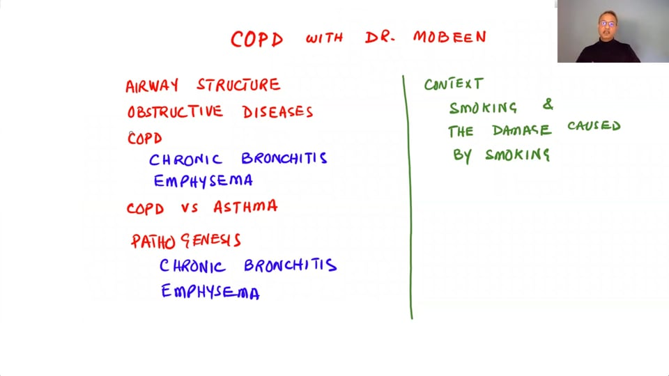Obstructive Pulmonary Diseases - COPD and Chronic Bronchitis