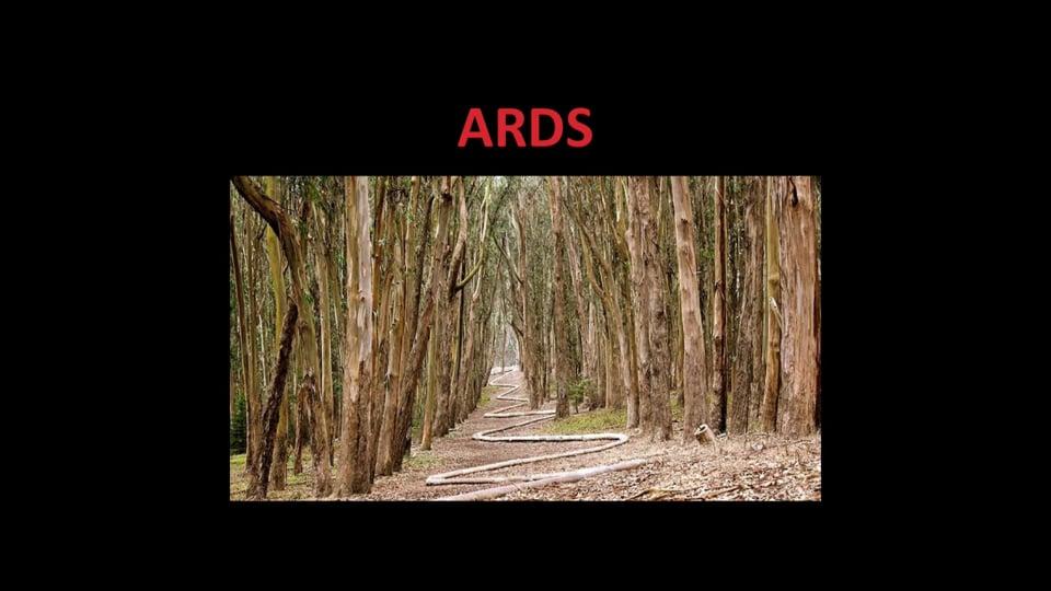 ARDS - Pathophysiology and Clinical Presentation
