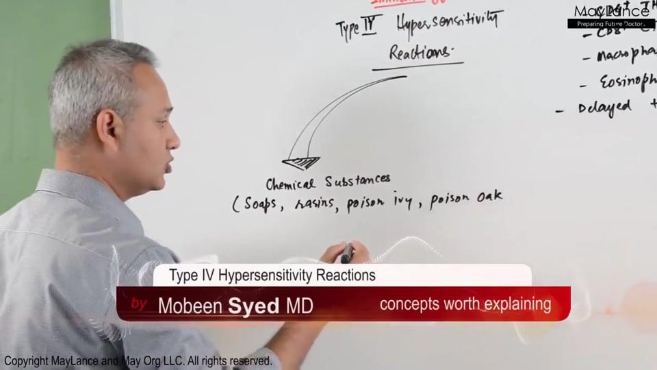 Type IV Hypersensitivity Reactions