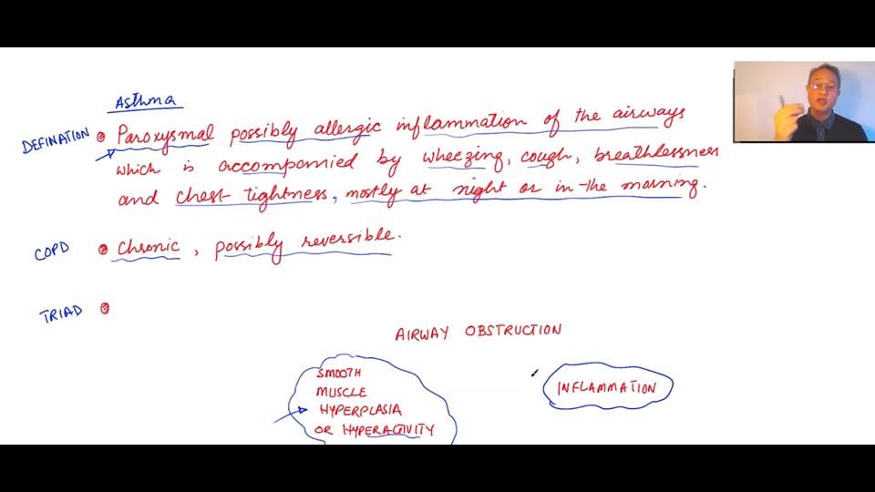 Asthma Types and Clinical Pathophysiology