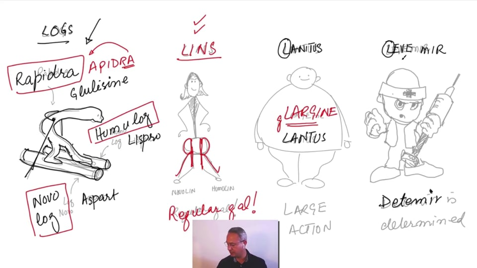 Master Insulin Therapy (Part 1. Insulin types and names.)
