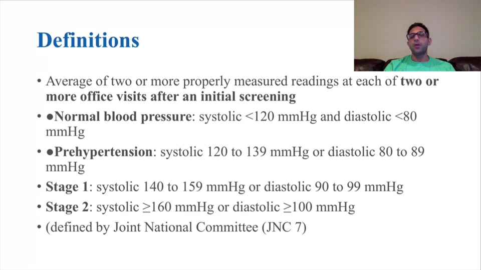 Diagnosis and Management of Hypertension