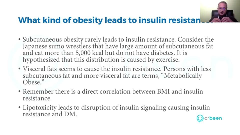 Pathogenesis of Type II Diabetes Mellitus (Managing Type II Diabetes Mellitus - Part 3. Webinar)