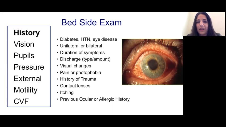 Basic Eye Examination