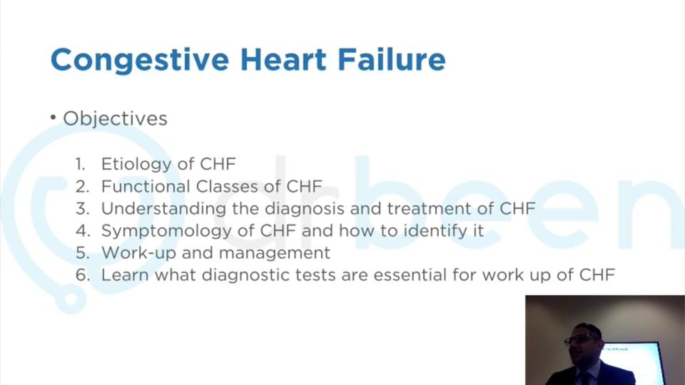 Webinar Recording - Congestive Heart Failure (CHF)
