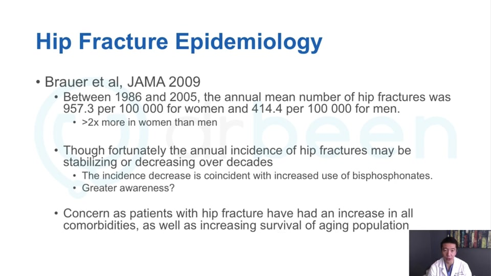 Geriatric Hip Fractures: A Clinical Overview and Management Discussion