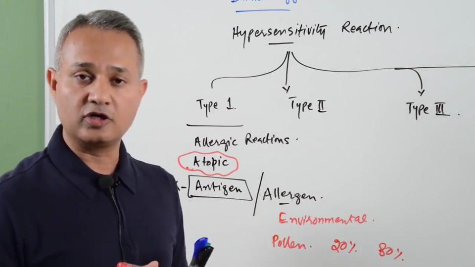 Type 1 Hypersensitivity Reactions - Allergies (urdu-Hindi)