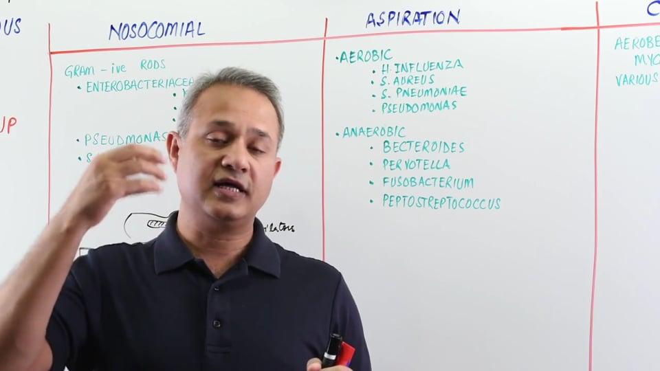 Pneumonia: Nosocomial Pneumonia