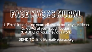 Calling All Waco Artist Mural Promo