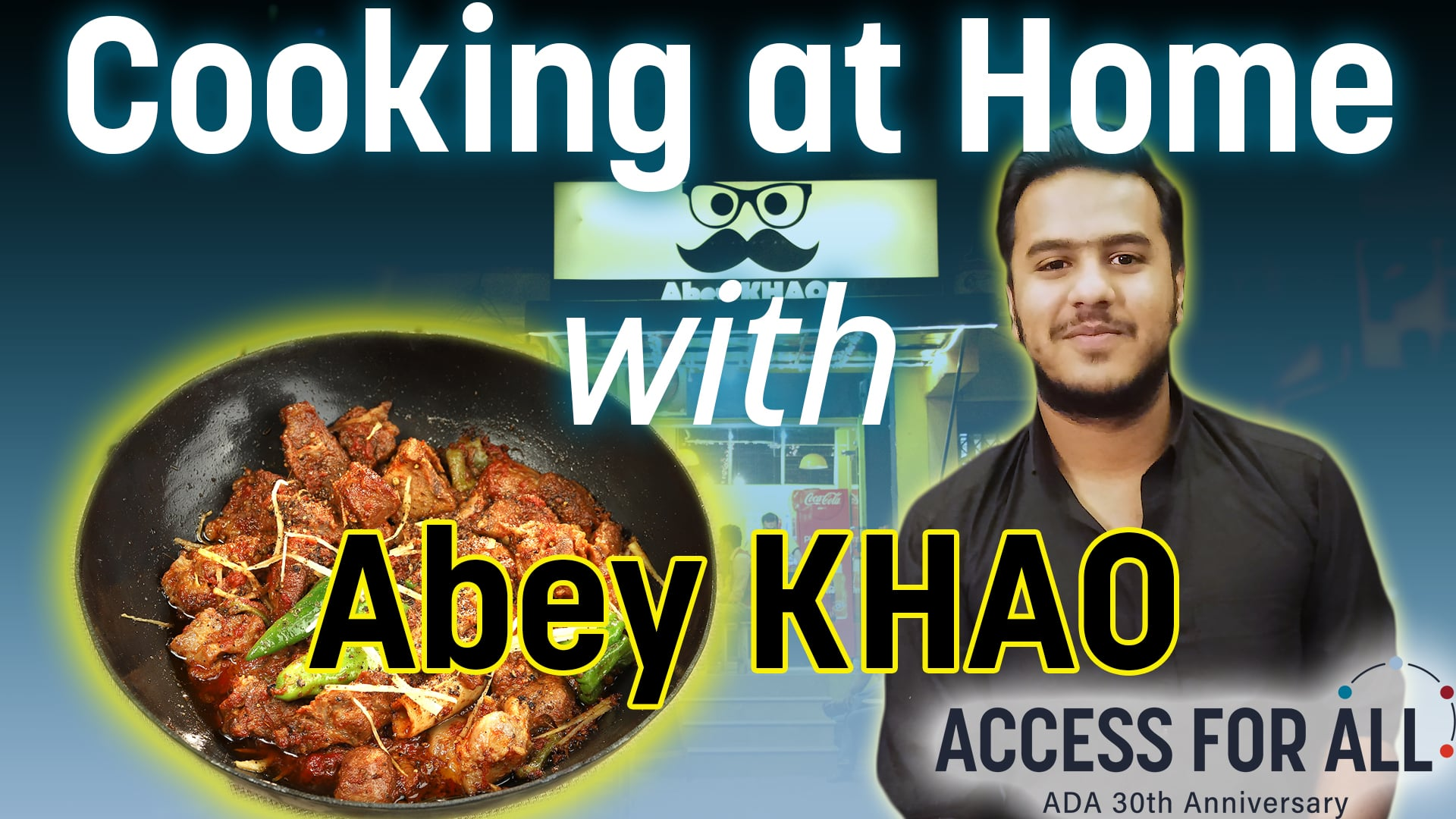 Cooking at Home with Abey KHAO