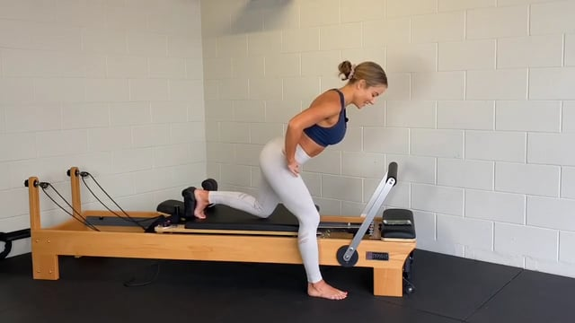 35min reformer workout with lower body focus