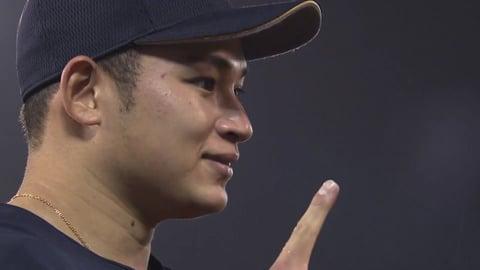 バファローズ・榊原投手ヒーローインタビュー 7/24 E-B