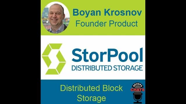 StorPool software defined storage