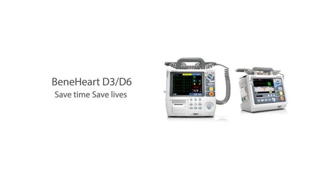 BeneHeart D3 & D6 defibrillators