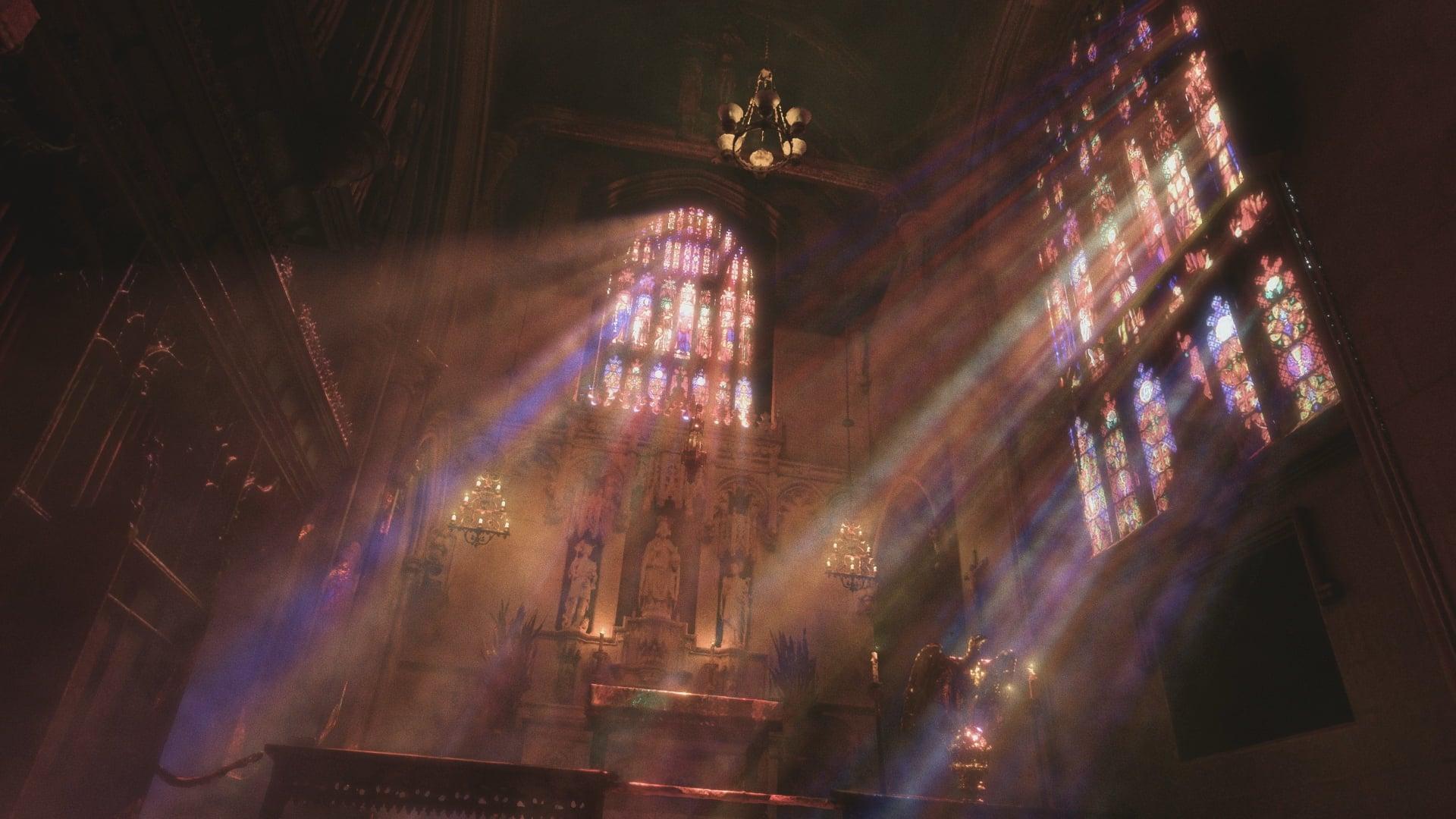 Trinity Church (NYC) laser scan lighting test - C4D / Redshift