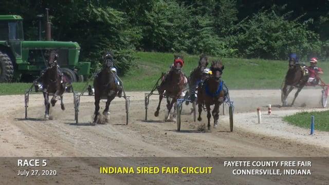 7-27-2020 Connersville Race 5