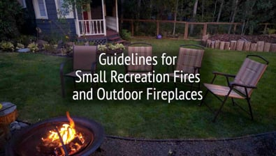 Thumbnail of video Small Recreation Fires & Outdoor Fireplaces PSA