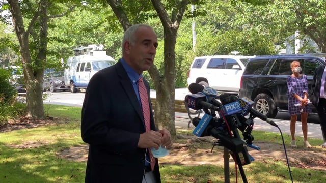 Southampton Town Supervisor Jay Schneiderman Holds Press Conference On Chainsmokers Concert
