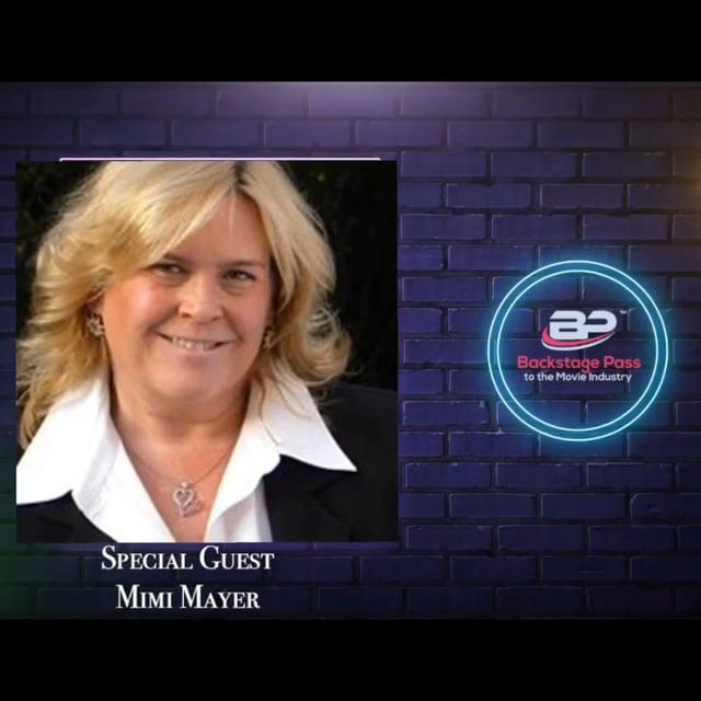 Special Guest, Talent Agent, Mimi Mayer